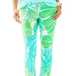 NWT Lilly Pulitzer Alina pants in fronds place